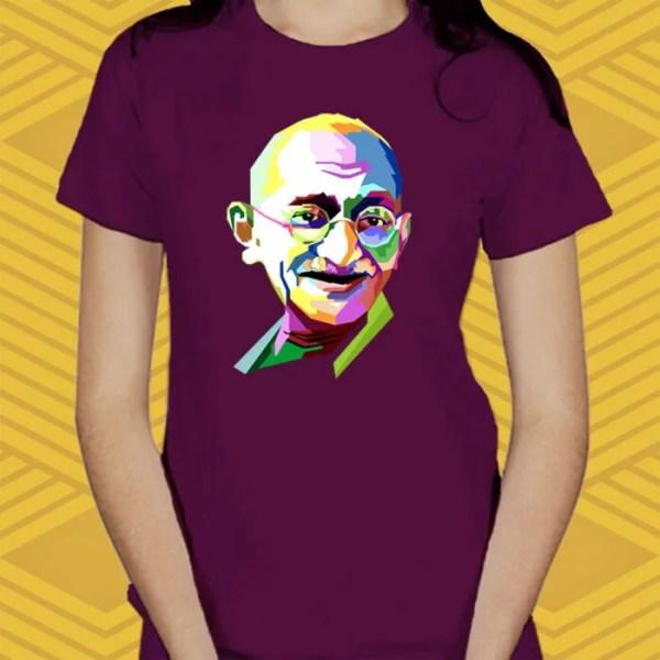Camiseta Gandhi Baby Look