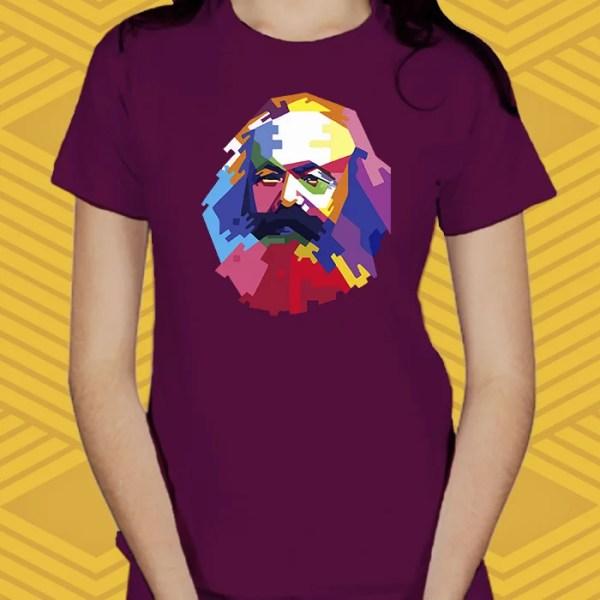 Camiseta Karl Marx Baby Look