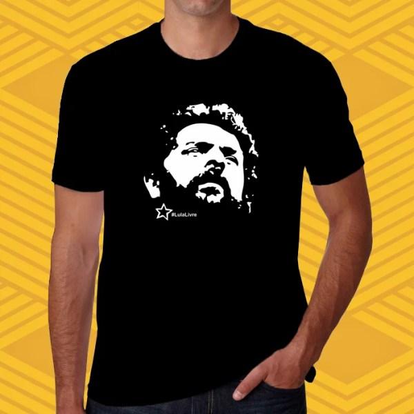 Camiseta - Lula Livre - Unissex