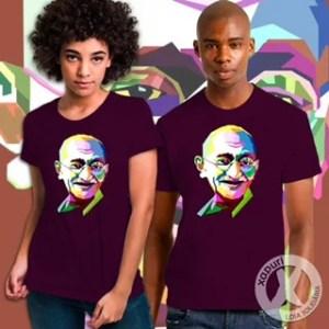 Camiseta Gandhi