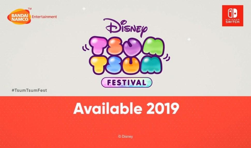Anunciada la fecha de lanzamiento de Disney Tsum Tsum Festival