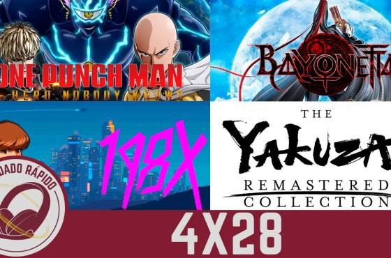 GR (4×28) E3 en peligro, The Last of Us Serie, Valorant, Bayonetta Remastered, 198X, Yakuza Remastered y One Punch Man.