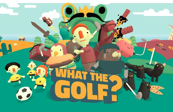 What The Golf? saldrá a la venta el 21 de mayo en Switch.
