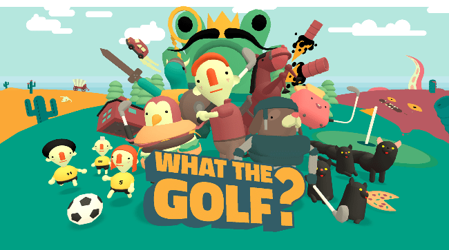 What The Golf? saldrá a la venta el 21 de mayo en Switch.