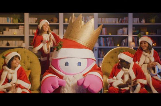 Fall Guys tendrá un traje de regalo por Navidad