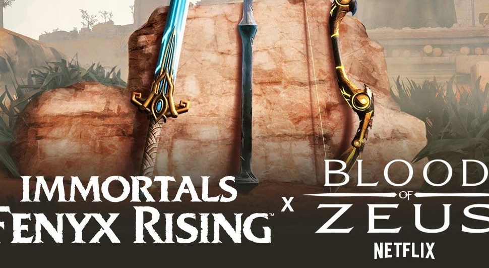 Crossover por tiempo limitado entre Blood of Zeus e Immortals Fenyx Rising