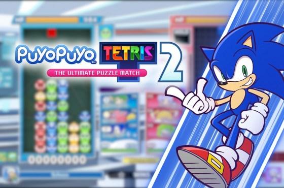Sonic llega a Puyo Puyo Tetris 2 en actualizacion gratuita