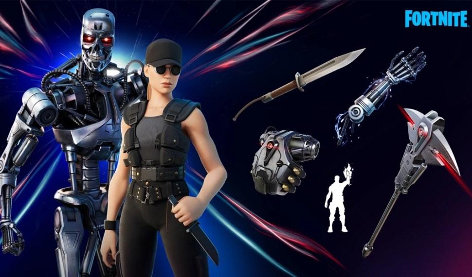 Sarah Connor y el T-800 llegan al Capítulo 2 Temporada 5 de Fortnite