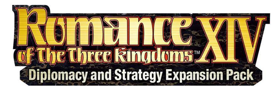 Romance of The Three Kingdoms XIV: Diplomacy and Strategy Expansion Pack ya disponible
