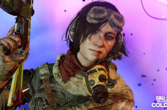 Samantha Maxis estara disponible en Warzone, Black Ops Cold War Zombies y Multijugador