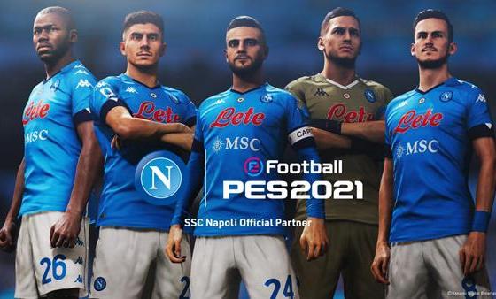 Konami anuncia un acuerdo a largo plazo con SSC Napoli