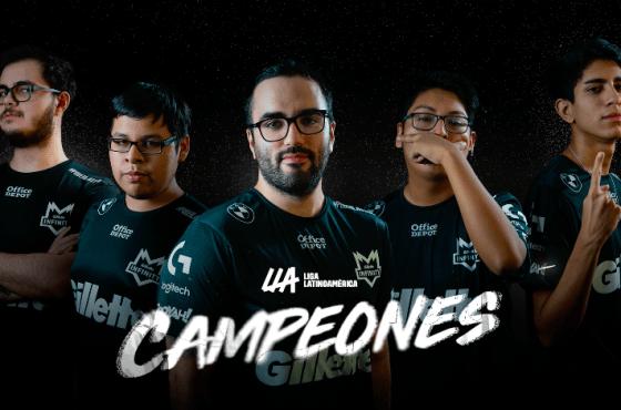 Gillette Infinity es el campeón de la Liga Latinoamérica Apertura 2021