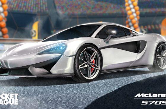 El McLaren 570S regresa a Rocket League el 27 de Mayo