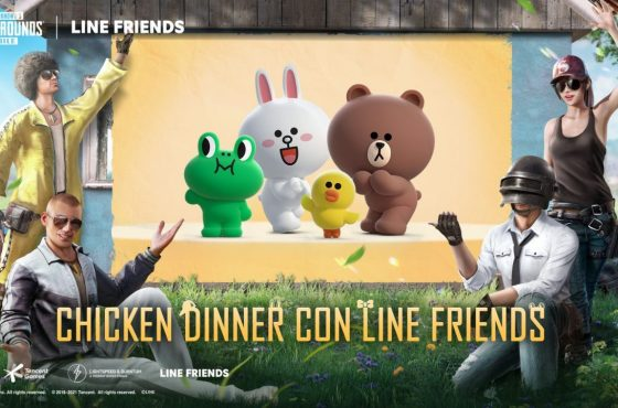 PUBG MOBILE se asocia con la marca global de personajes LINE FRIENDS