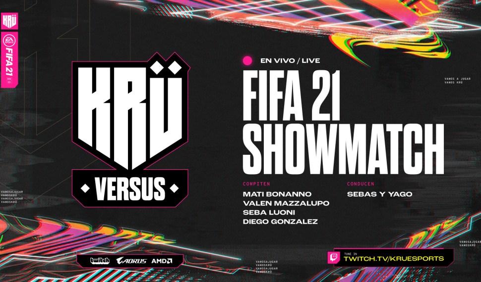 """Vuelve """"KRÜ Versus"""", con un gran desafío de FIFA"""