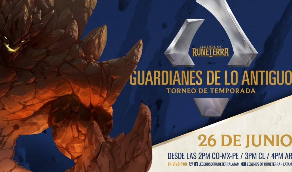 Torneo de Temporada LoR, Guardianes de lo Antiguo