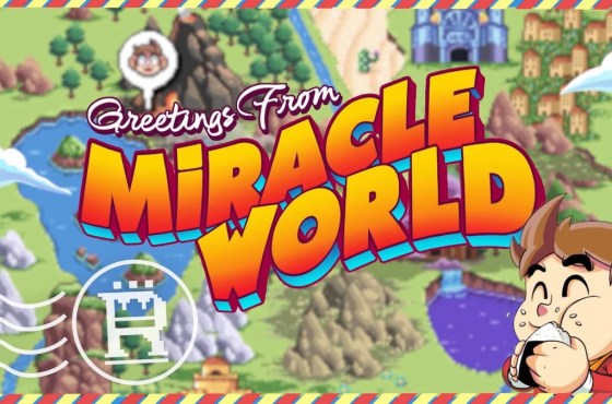 Alex Kidd en Miracle World DX se lanzará este mes