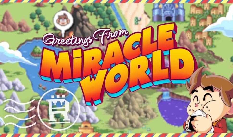 Demo gratuita de Alex Kidd in Miracle World DX ya está disponible