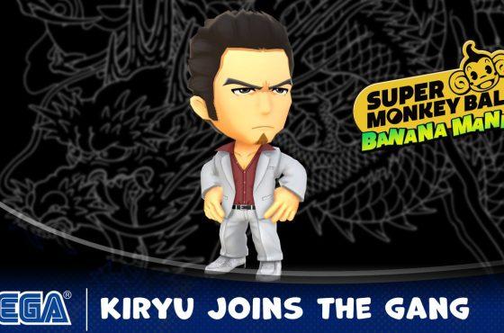 Kiryu Kazuma también se une a Super Monkey Ball Banana Mania