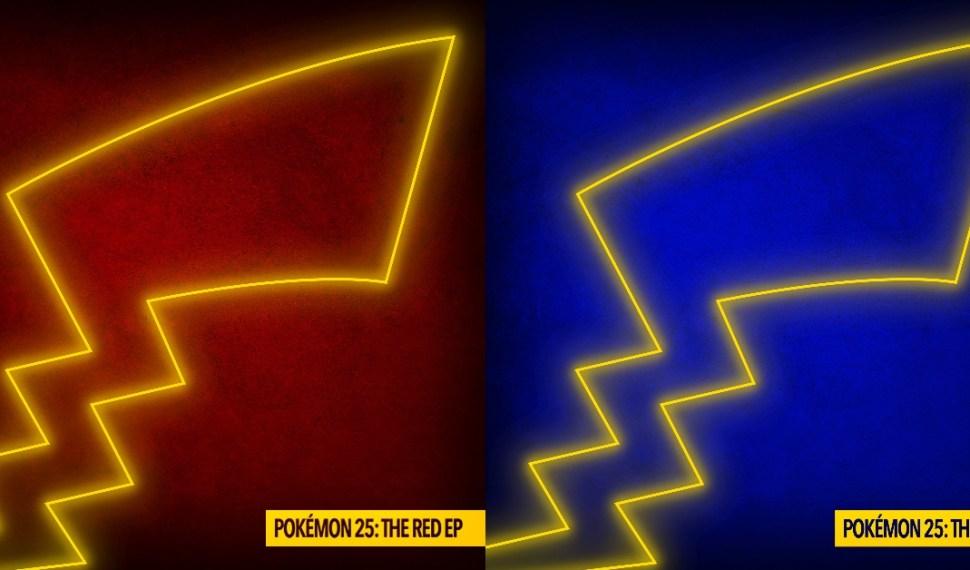 Pokémon 25: The Blue EP con Remixes de ZHU se Lanza Hoy