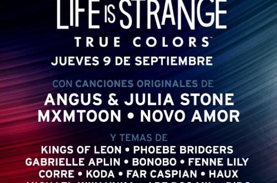 Mostrada la lista completa de canciones de Life is Strange: True Colors