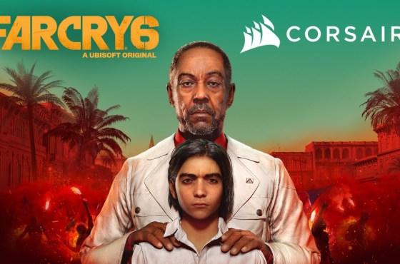 CORSAIR y Ubisoft colaboran para ofrecer una experiencia de PC en Far Cry 6