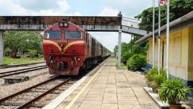 Bekok Train Station - Find this experience on LokaLocal