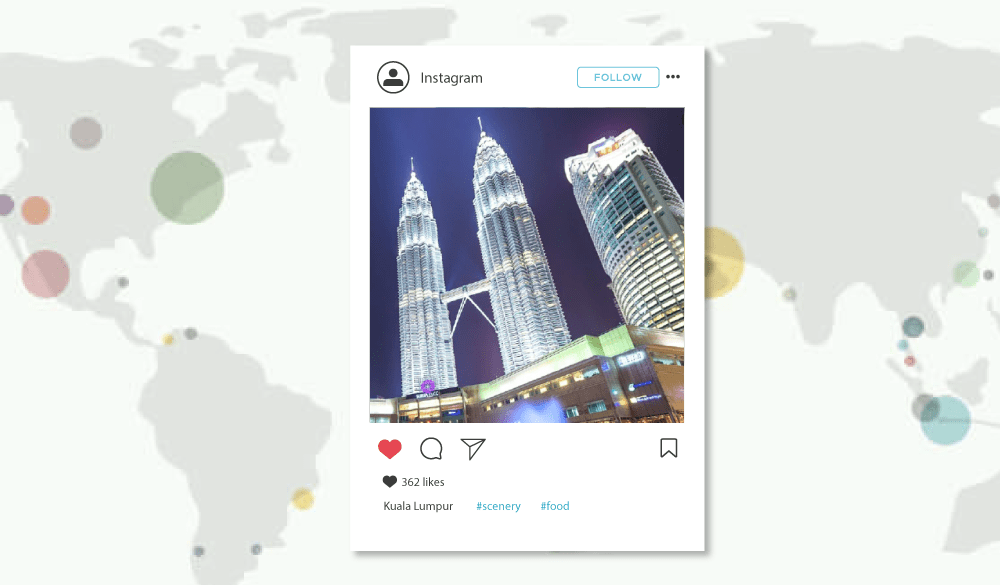 Kuala Lumpur has the World's 4th Most Instagrammed Scenery (and 7th for Food)