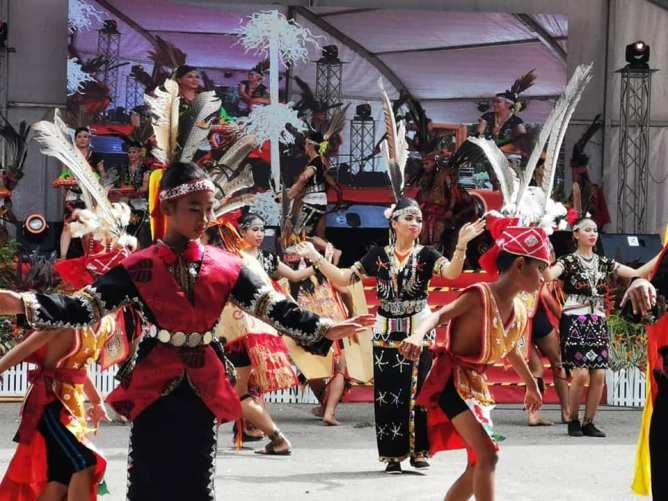 Kalimaran Festival anually celebrated by Murut tribe.