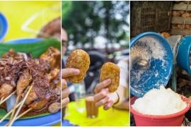 Taste of traditional Malay street food