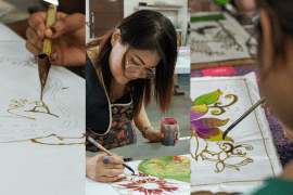 Here's Where You Can Learn to Draw and Paint Batik in Kuala Lumpur - www.lokalocal.com