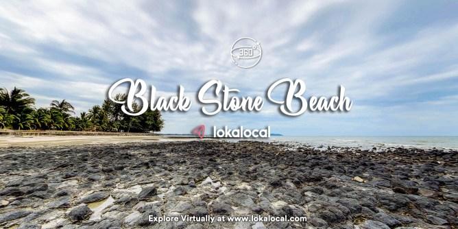 Ultimate Virtual Tours in Malaysia - Black Stone Beach - www.lokalocal.com