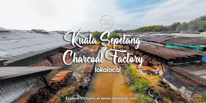 Ultimate Virtual Tours in Malaysia - Kuala Sepetang Charcoal Factory - www.lokalocal.com