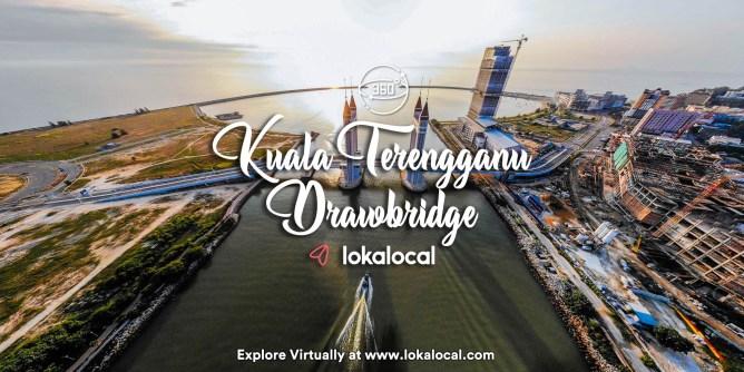 Ultimate Virtual Tours in Malaysia - Kuala Terengganu Drawbridge - www.lokalocal.com