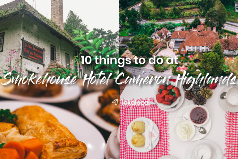 Smokehouse Hotel Cameron Highlands: 10 things to do at the boutique hotel