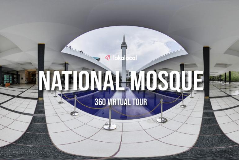 360 Virtual Tour | National Mosque