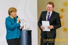 Bürgermeister Andreas Hollstein, erhielt im Mai für die Stadt Altena den nationalen Integrationspreis der Bundeskanzlerin Angela Merkel.