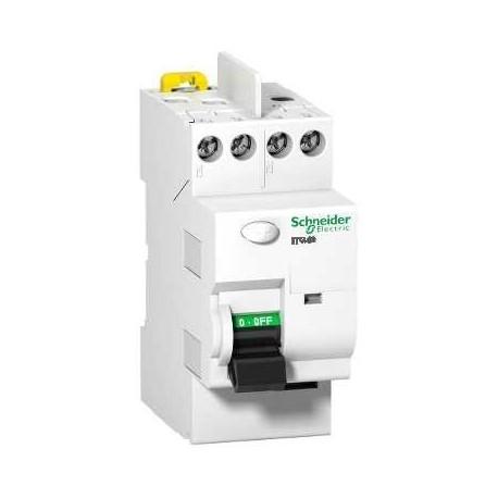 Disjoncteur différentiel bipolaire  de Schneider électrique  Acti9