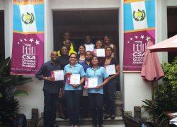 6 -First Group of UWI-ALJGSB Students La Antigua Guatemala - May 2013