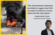 Myanmar uprising