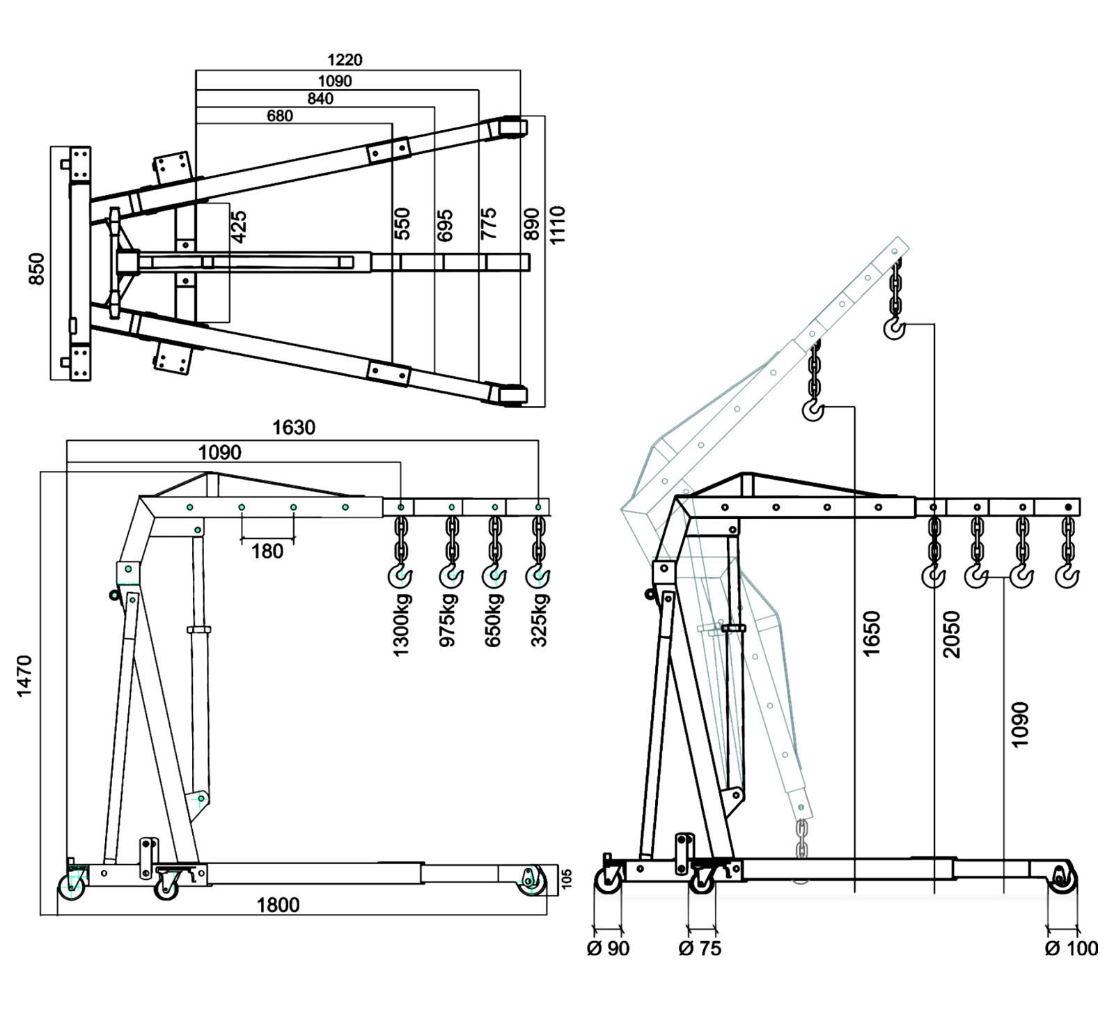 2 Sd Hoist Wiring Diagram Electric Pallet Jack Diagram