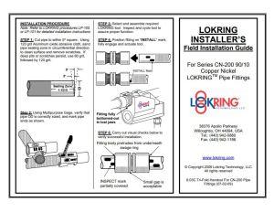 Lokring CN Field Installation Guide