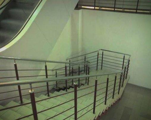 Wohin soll diese Treppe führen?