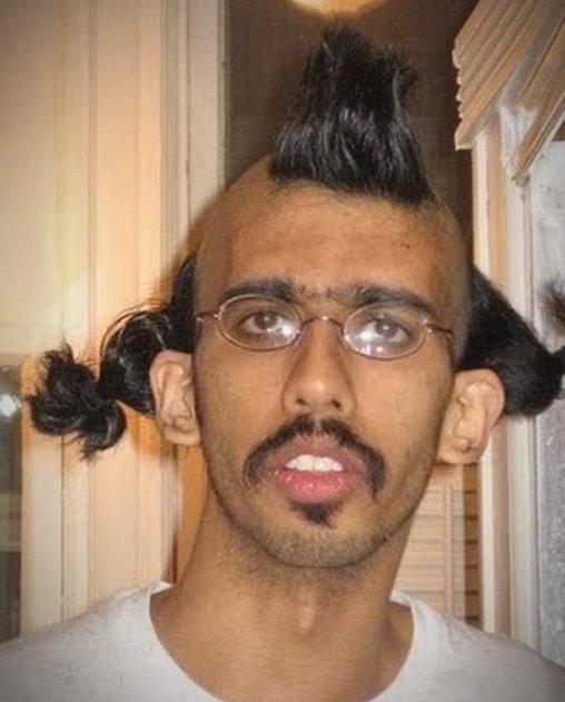 Schräge Frisuren Und Haarfarben Bilder Videos Lol De Menschen