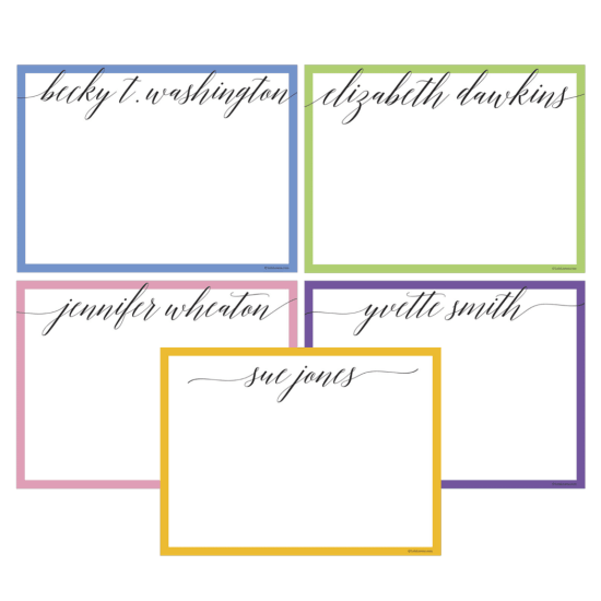 Calligraphy Notecard Set
