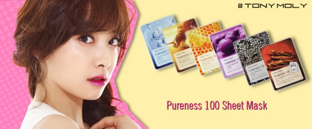 Tony Moly Pureness 100 Sheet Mask