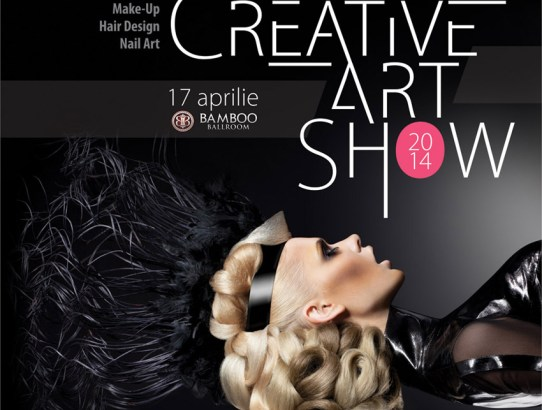 Make-up, hair styling şi nail-art la CREATIVE ART SHOW