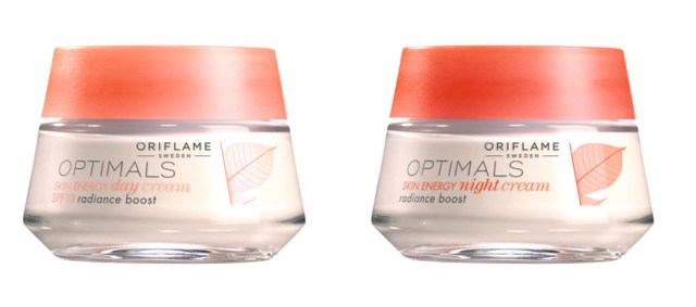 Optimals Skin Energy, cremă de zi & cremă de noapte