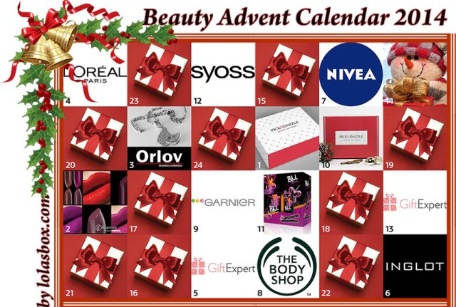 Beauty Advent Calendar, day 13