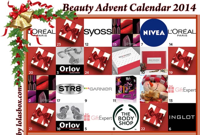 Beauty Advent Calendar, day 17